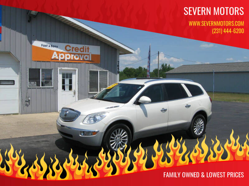 2011 Buick Enclave for sale at Severn Motors in Cadillac MI