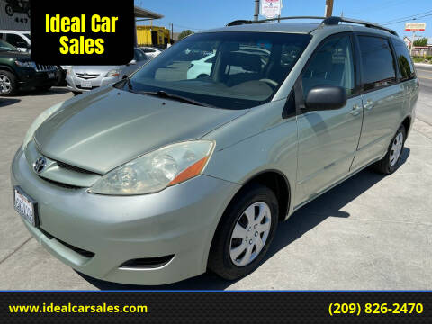 2006 Toyota Sienna for sale at Ideal Car Sales in Los Banos CA