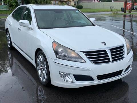 2013 Hyundai Equus for sale at Consumer Auto Credit in Tampa FL