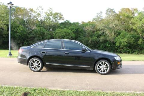 2009 Audi A6 for sale at Clear Lake Auto World in League City TX