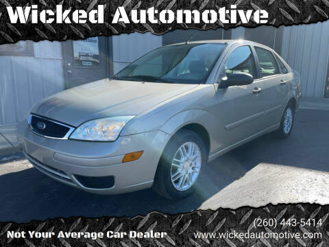 2006 Ford Focus for sale at Wicked Automotive in Fort Wayne IN