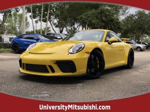 2018 Porsche 911 for sale at FLORIDA DIESEL CENTER in Davie FL