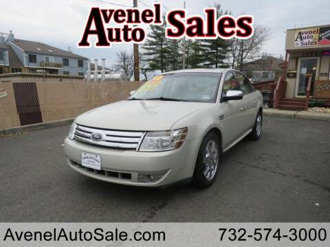 2008 Ford Taurus for sale at Avenel Auto Sales in Avenel NJ