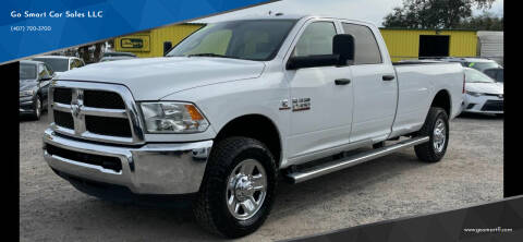 2018 RAM Ram Pickup 2500 for sale at Go Smart Car Sales LLC in Winter Garden FL