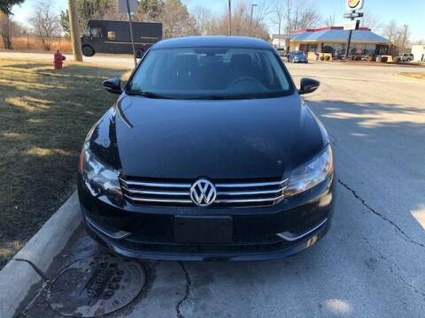 2012 Volkswagen Passat for sale at NORTH CHICAGO MOTORS INC in North Chicago IL