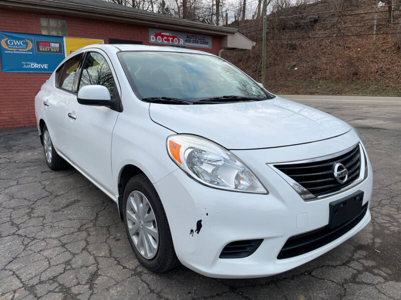 2014 Nissan Versa for sale at Doctor Auto in Cecil PA