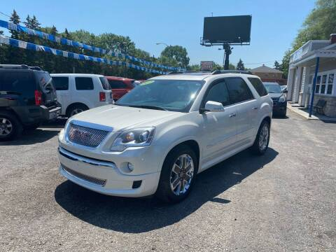 2012 GMC Acadia for sale at 1st Quality Auto in Milwaukee WI
