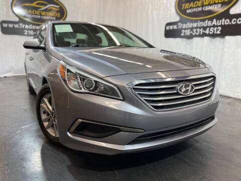 2016 Hyundai Sonata for sale at TRADEWINDS MOTOR CENTER LLC in Cleveland OH
