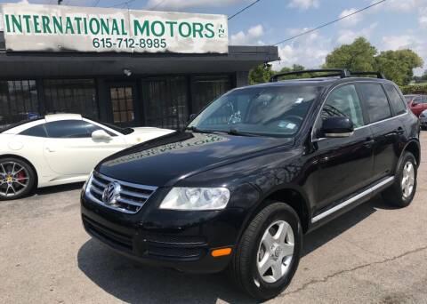 2005 Volkswagen Touareg for sale at International Motors Inc. in Nashville TN