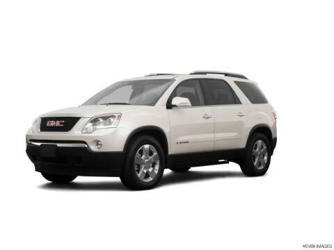 2008 GMC Acadia for sale at CAR MART in Union City TN
