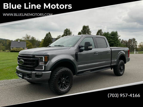 2021 Ford F-250 Super Duty for sale at Blue Line Motors in Winchester VA