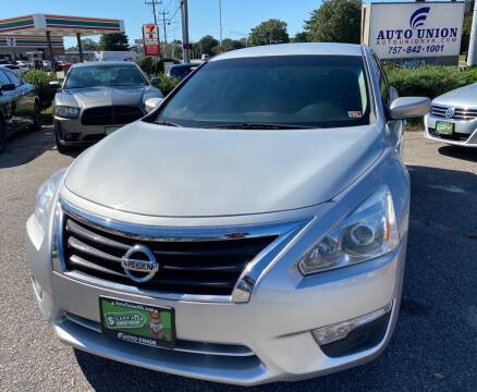 2015 Nissan Altima for sale at Auto Union LLC in Virginia Beach VA