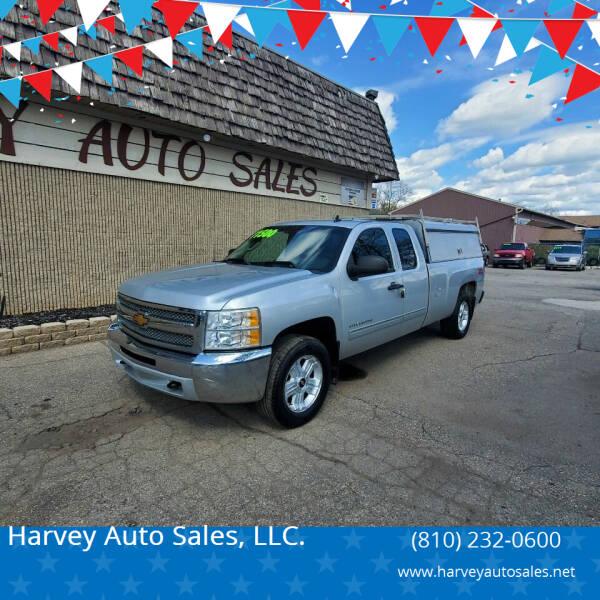 2013 Chevrolet Silverado 1500 for sale at Harvey Auto Sales, LLC. in Flint MI