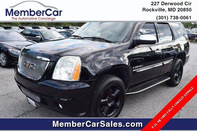 2007 GMC Yukon for sale at MemberCar in Rockville MD