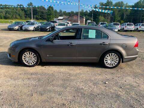 2012 Ford Fusion Hybrid for sale at Upstate Auto Sales Inc. in Pittstown NY