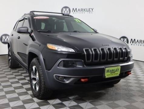 2017 Jeep Cherokee for sale at Markley Motors in Fort Collins CO