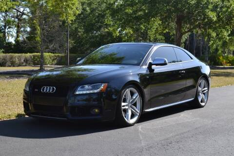 2010 Audi S5 for sale at GulfCoast Motorsports in Osprey FL