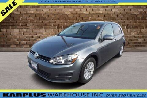 2017 Volkswagen Golf for sale at Karplus Warehouse in Pacoima CA