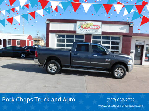 2014 RAM Ram Pickup 2500 for sale at Pork Chops Truck and Auto in Cheyenne WY