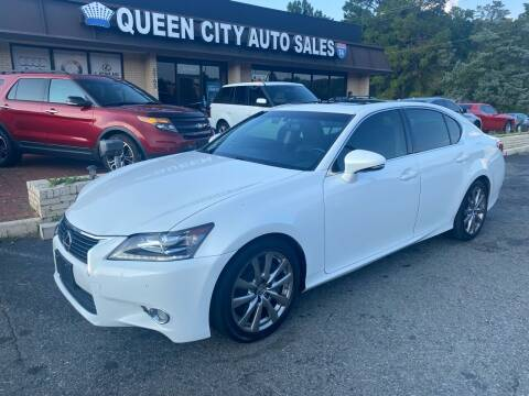 2014 Lexus GS 350 for sale at Queen City Auto Sales in Charlotte NC