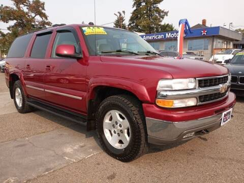 2005 Chevrolet Suburban for sale at All American Motors in Tacoma WA