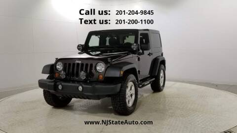 2013 Jeep Wrangler for sale at NJ State Auto Used Cars in Jersey City NJ