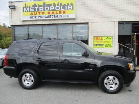 2013 Chevrolet Tahoe for sale at Metropolis Auto Sales in Pelham NH