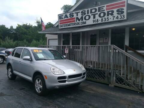 2005 Porsche Cayenne for sale at EASTSIDE MOTORS in Tulsa OK