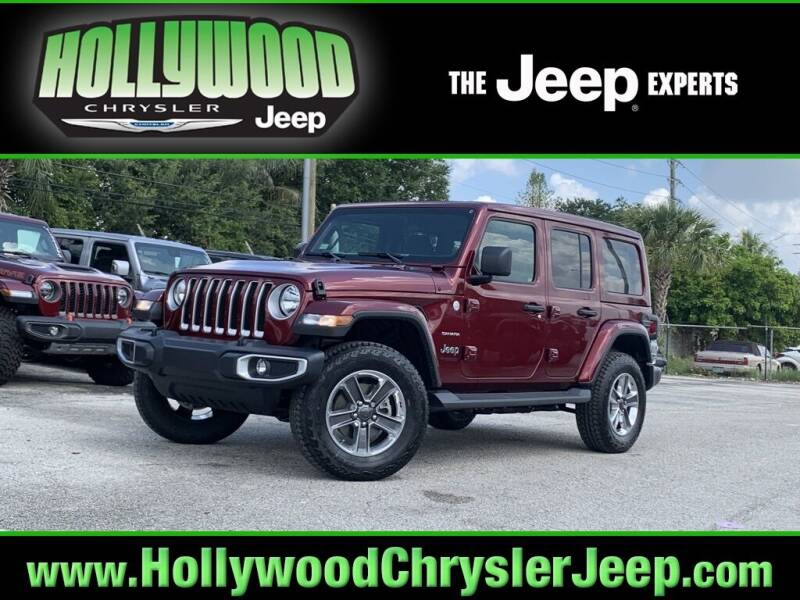 2021 Jeep Wrangler Unlimited for sale in Hollywood, FL