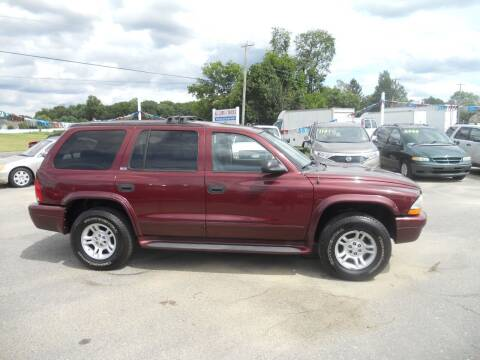 2002 Dodge Durango for sale at All Cars and Trucks in Buena NJ