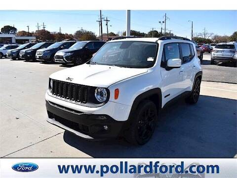 2017 Jeep Renegade for sale at South Plains Autoplex by RANDY BUCHANAN in Lubbock TX