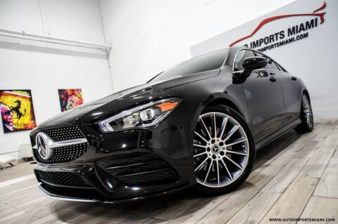 2020 Mercedes-Benz CLA for sale at AUTO IMPORTS MIAMI in Fort Lauderdale FL