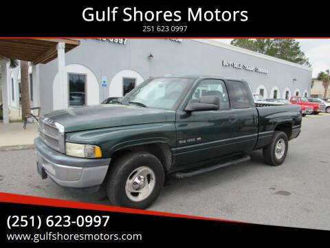 2001 Dodge Ram Pickup 1500 for sale at Gulf Shores Motors in Gulf Shores AL