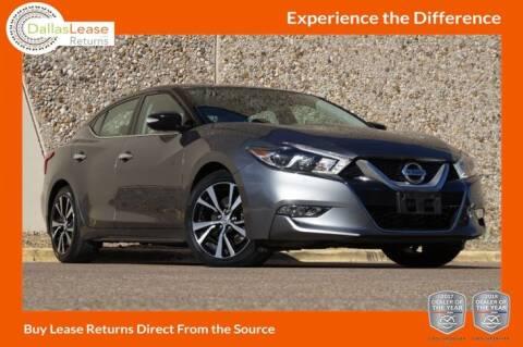 2017 Nissan Maxima for sale at Dallas Auto Finance in Dallas TX