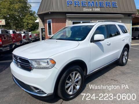 2014 Dodge Durango for sale at Premiere Auto Sales in Washington PA