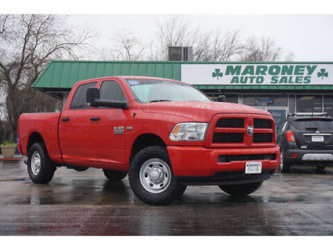 2016 RAM Ram Pickup 2500 for sale at Maroney Auto Sales in Humble TX