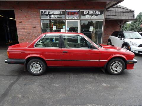 1986 BMW 3 Series for sale at AUTOWORKS OF OMAHA INC in Omaha NE