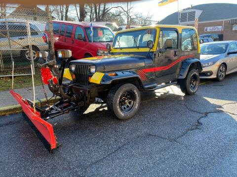 1994 Jeep Wrangler for sale at White River Auto Sales in New Rochelle NY