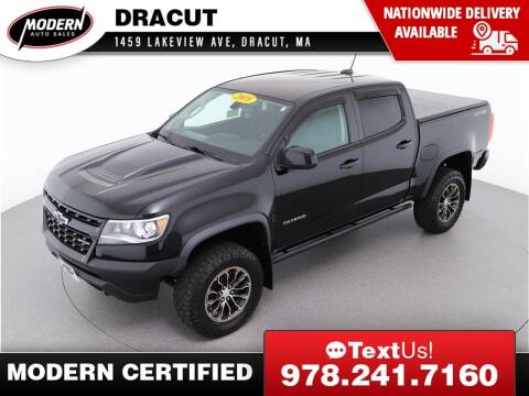 2018 Chevrolet Colorado for sale at Modern Auto Sales in Tyngsboro MA