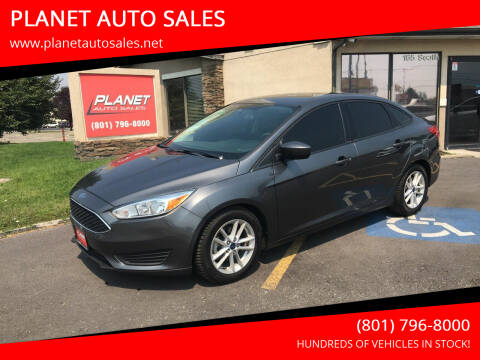 2018 Ford Focus for sale at PLANET AUTO SALES in Lindon UT