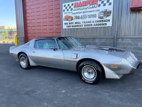 1979 Pontiac Firebird Trans Am for sale at Harper Motorsports-Vehicles in Post Falls ID