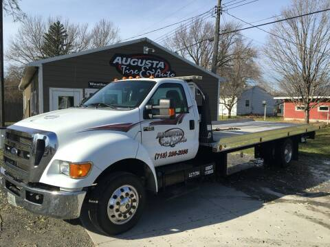 2015 Ford F-650 Super Duty for sale at Augusta Tire & Auto in Augusta WI