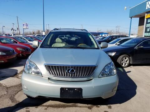 2007 Lexus RX 350 for sale at Royal Motors - 33 S. Byrne Rd Lot in Toledo OH