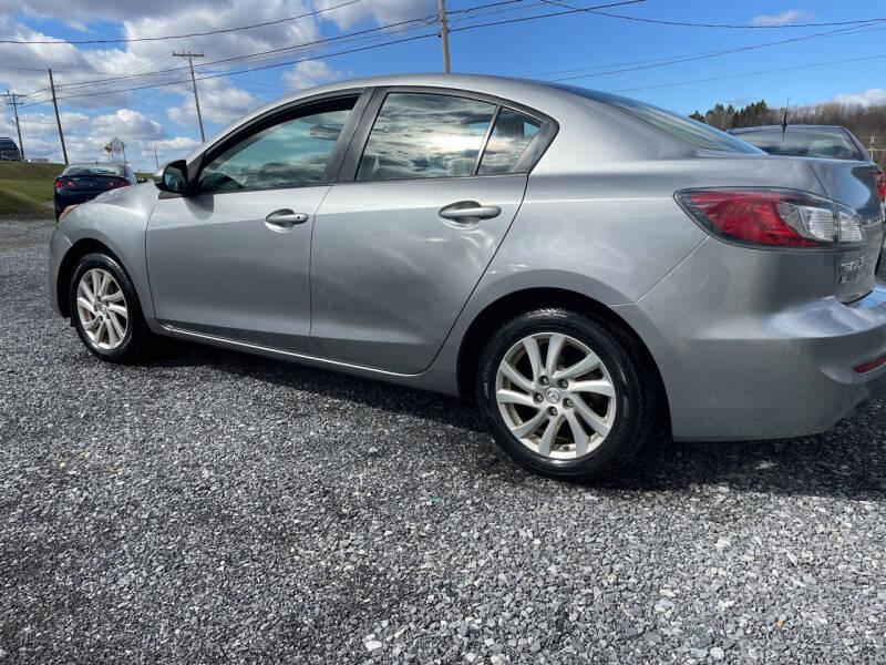 2012 Mazda MAZDA3 for sale at CESSNA MOTORS INC in Bedford PA