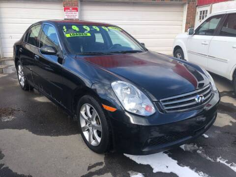 2006 Infiniti G35 for sale at James Motor Cars in Hartford CT