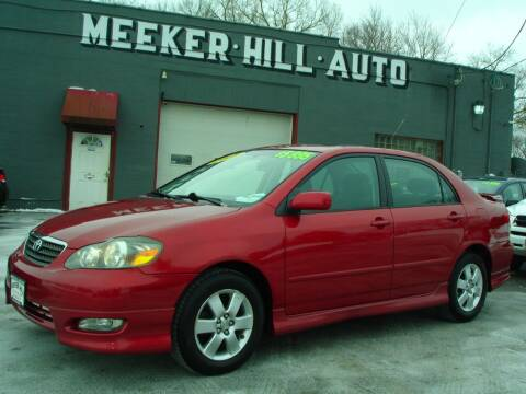 2008 Toyota Corolla for sale at Meeker Hill Auto Sales in Germantown WI