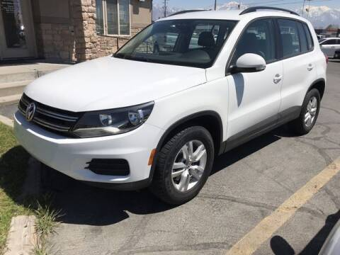 2016 Volkswagen Tiguan for sale at INVICTUS MOTOR COMPANY in West Valley City UT