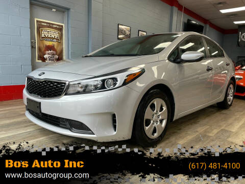 2017 Kia Forte for sale at Bos Auto Inc in Quincy MA