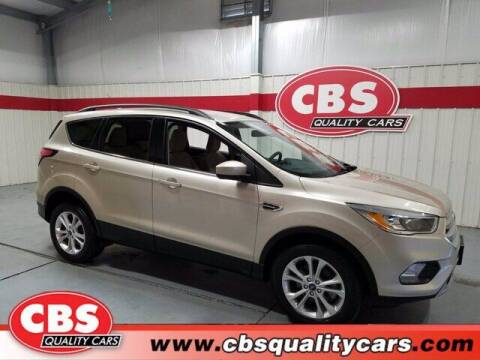 2018 Ford Escape for sale at CBS Quality Cars in Durham NC