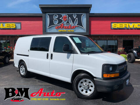 2013 Chevrolet Express Cargo for sale at B & M Auto Sales Inc. in Oak Forest IL